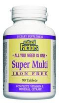 Super Multi Iron-Free (90 tablets)* Natural Factors
