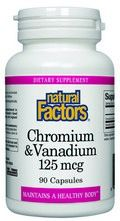 Chromium & Vanadium (90 capsules)* Natural Factors