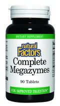 Megazyme (90 tablets)* Natural Factors