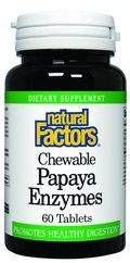 Papaya Enzyme (60 tablets)* Natural Factors