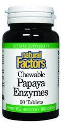 Papaya Enzyme (60 tablets)* Natural Factors
