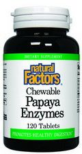 Papaya Enzyme  (120 tablets)* Natural Factors