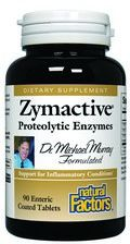 Zymactive Proteolytic Enzyme (90 tablets)* Natural Factors