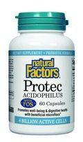Protec with FOS (60 capsules)* Natural Factors