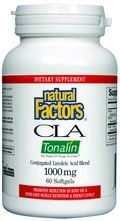 CLA -Tonalin- Linoleic Acid (1000 mg 60 softgels)* Natural Factors