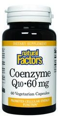 CoEnzyme Q10 (60 mg 60 softgels)* Natural Factors