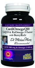 CardiOmega Q10 (60 softgels) formula by Dr Michael Murphy* Natural Factors