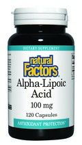 Alpha Lipoic Acid (100 mg 120 capsules)* Natural Factors