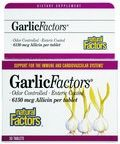 Garlic Factors - Maximum Strength (30 tablets)* Natural Factors