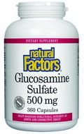 Glucosamine Sulfate (00 mg 360 capsules)* Natural Factors
