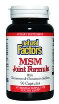 MSM Joint Formula (90 capsules)* Natural Factors