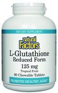 L-Glutathione (125 mg 90 tablets) Natural Factors