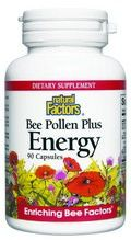 Bee Pollen Plus Energy (90 capsules)* Natural Factors