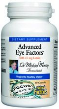 Advanced Eye Factors (60 capsules)* Natural Factors