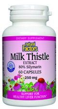 Milk Thistle Extract (250mg 60 capsules)* Natural Factors