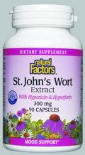 St. John's Wort Extract (300 mg 90 capsules)* Natural Factors