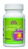 Green Tea Extract (300mg 30 capsules)* Natural Factors