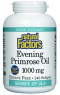 Evening Primrose Oil 1000 mg/ 100mg GLA(240 softgels)* Natural Factors