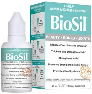 BioSil ch-OSA Advanced Collagen Generator Liquid (1 oz)* Natural Factors