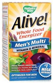 Alive Men's Multi (90 tablets) Nature's Way