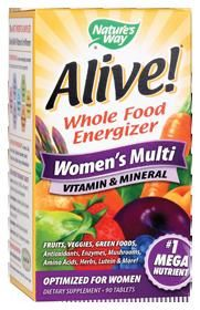 Alive Womens Multi-Vitamin (90 tablets) Nature's Way