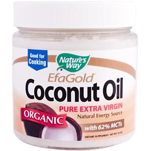 Efa Gold Coconut Oil (16 oz) Nature's Way