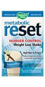 Metabolic ReSet Vanilla ( 1 carton of 10 Packets  ) Nature's Way