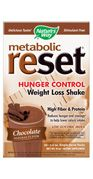 Metabolic ReSet Chocolate ( 1 carton of 10 Packets  ) Nature's Way
