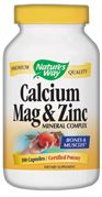 Calcium, Magnesium, Zinc  ( 100 capsules ) Nature's Way