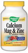 Calcium, Magnesium, Zinc  ( 250 capsules ) Nature's Way