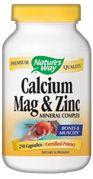 Calcium, Magnesium, Zinc  ( 250 capsules )* Nature's Way