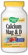 Calcium, Magnesium, Vitamin D  ( 250 capsules ) Nature's Way