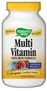 Multi Vitamin with Iron Formula   ( 180 capsules ) Nature's Way
