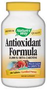 Antioxidant Formula  ( 100 tablets )* Nature's Way