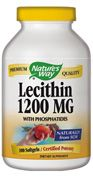 Lecithin 1200 mg ( 100 softgel ) Nature's Way