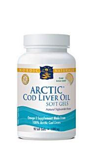 Arctic Cod Liver Oil (90 Soft Gels)* Nordic Naturals