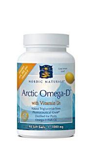 Arctic Omega-D with Vitamin D3 (90 softgels)* Nordic Naturals