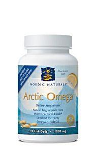 Arctic Omega 1000 mg (90 fish-gels)* Nordic Naturals