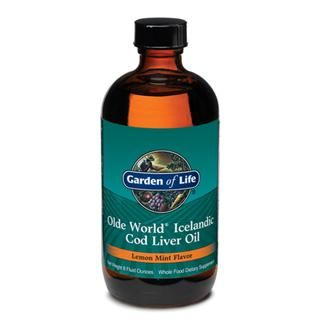 Olde World Icelandic  Cod Liver Oil (8 oz Oil) Garden of Life