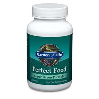 Perfect Food - Green label (75 Caplets) Garden of Life