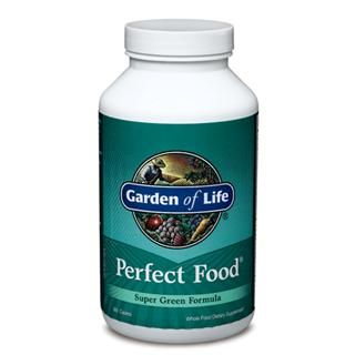 Perfect Food - Green label (300 Caplets) Garden of Life