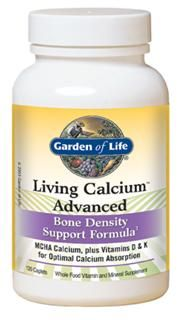 Living Calcium Advanced (120 Caplets) Garden of Life