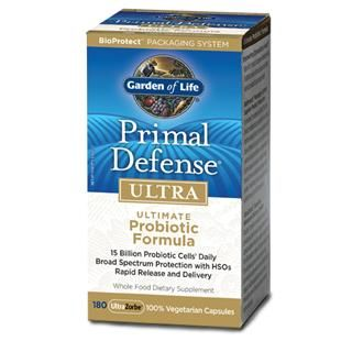 Primal Defense ULTRA (180 Capsules) Garden of Life