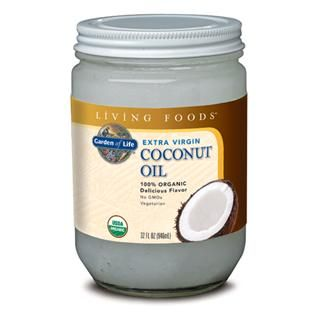 Garden of Life Extra Virgin Coconut Oil  (32oz Oil) Garden of Life
