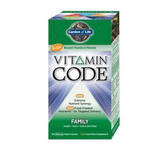 Vitamin Code - Family Multi (120 Capsules)* Garden of Life