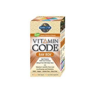 Vitamin Code - Iron (30 Capsules)* Garden of Life