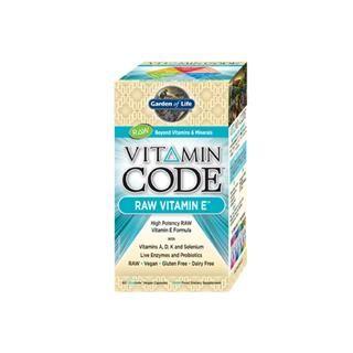 Vitamin Code -RAW Vitamin E (60 Capsules)* Garden of Life