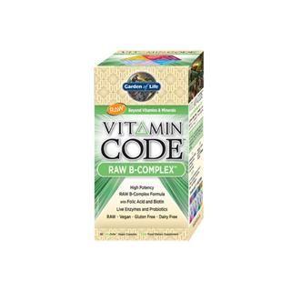 Vitamin Code - Vitamin B Complex (60 Capsules)* Garden of Life