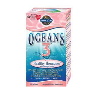 Oceans 3 - Healthy Hormone (90 Soft Gels)* Garden of Life