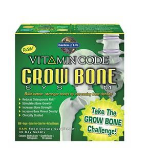 Vitamin Code | Grow Bone System (1 Kit)* Garden of Life